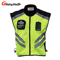 Riding Tribe Sleeveless Motorcycle Motorbike Motocross Jacket Safety Motorbike Reflective Jacket Sports wear Racing Moto Vest
