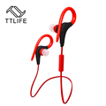 TTLIFE Bluetooth 4.1 Sweat Proof Sports Earphones Portable Ear-Hook Voice Control Wireless Earbuds for iPhone 7 xiaomi Phones