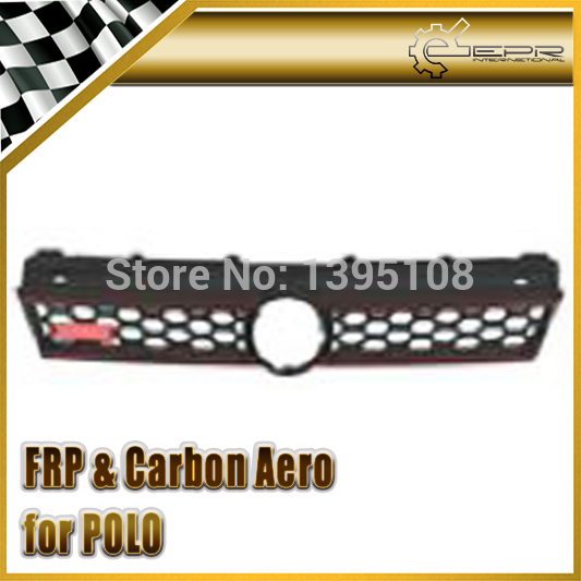 New Car Styling For Volkswagen Polo GTI Mesh Grill ABS Front Bumper Grille Fit 2006-2010 Car Accessories<br><br>Aliexpress