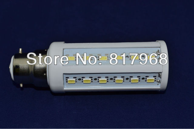 5630 44leds 110-130V/AC 12w 1320lm B22 corn bulb CE&RoHS certificated