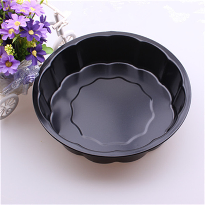 Free Shipping 9 inch Plum flower Shape Non-stick Pan cake mold DIY new design bakeware Cake Tool Kitchen Accessory 24*5.8cm(China (Mainland))