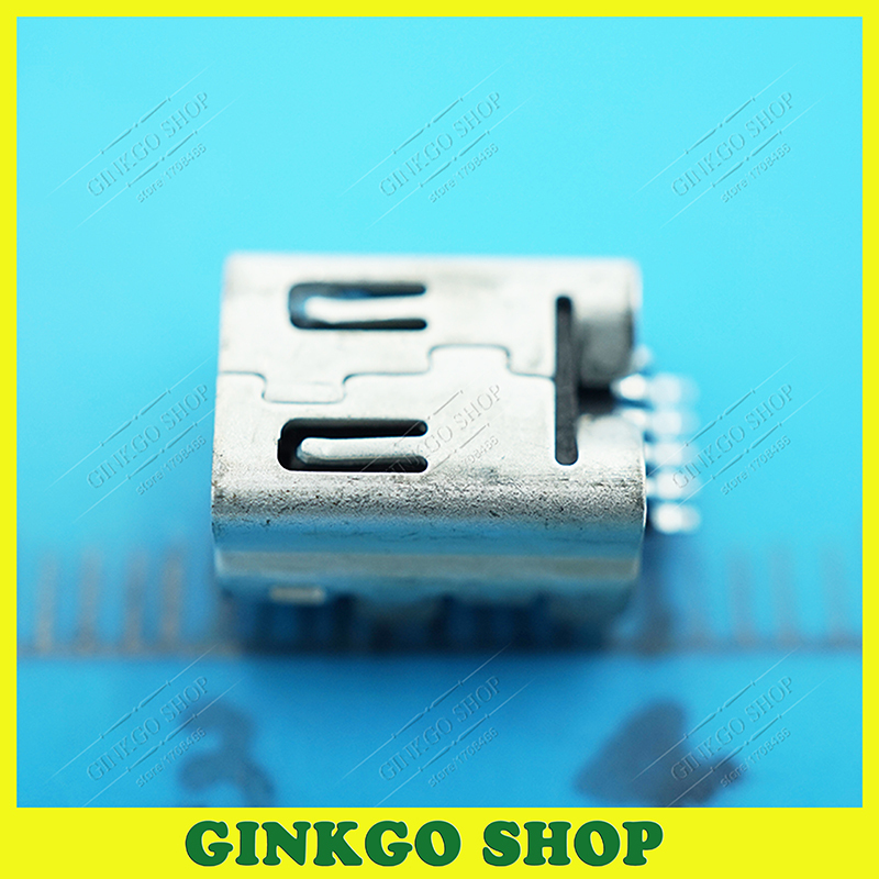 500pcs/lot AMP Original MINI USB Female 5P Charing Socket Connect Port 340403JOO-A<br><br>Aliexpress