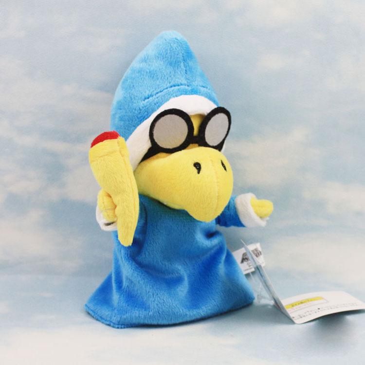 EMS 200шт Новый супер Марио плюшевые куклы мягкая игрушка Magikoopa 17см оптом