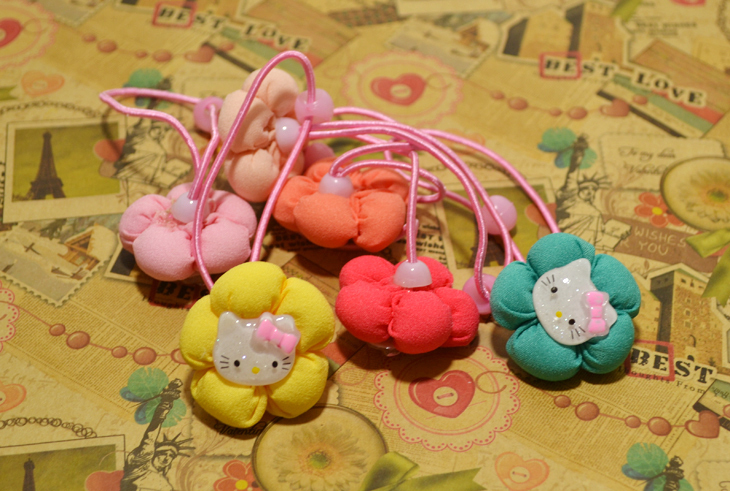Free Shipping! Fashion Style Flower Hairband For Children Head Band Lovely Design 12Pairs/Lot Hair Acessory For Kids