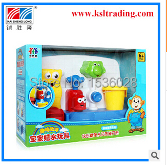 2015 New / infant baby swimming bath toys, paddling / swimming toys water faucet / summer childrens beach toys<br><br>Aliexpress