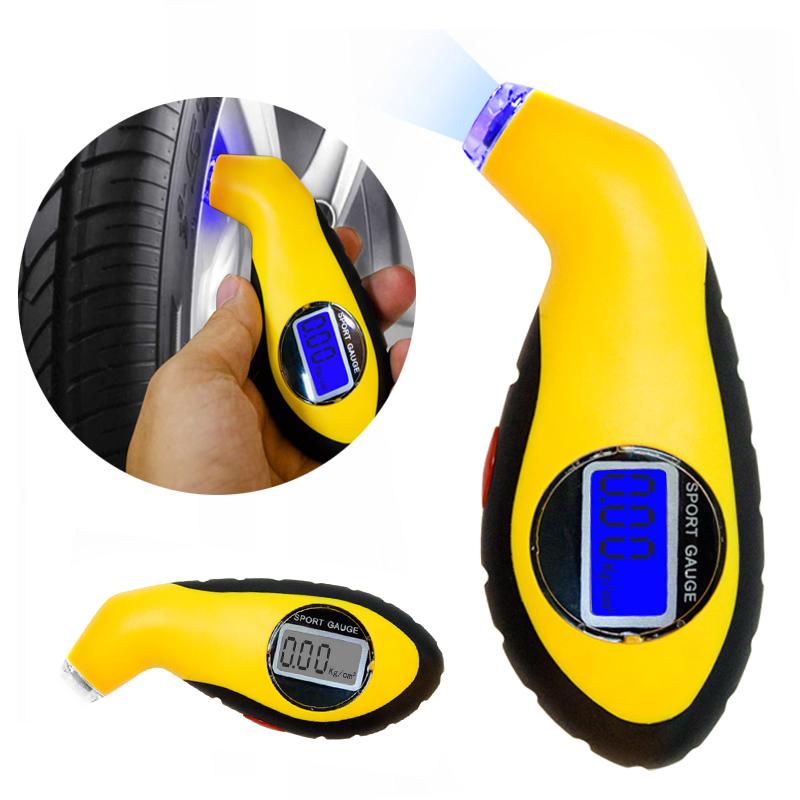 New Arrival Diagnostic Tool Digital LED Car Tire Pressure Gauge Meter car-detector For Audi Car Test Tool For Renault()