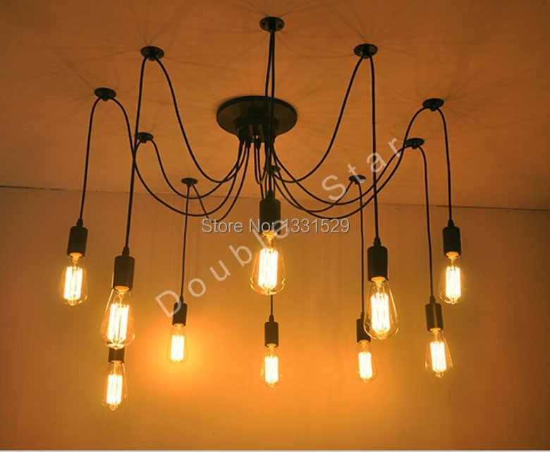 2014 new edison chandelier classic vintage ancient light for Classic home lighting