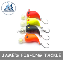 4pcs/pack 3.2cm 2.1g Free Shipping Mini Fishing Lures CrankBait Floating Crank Bait Tackle