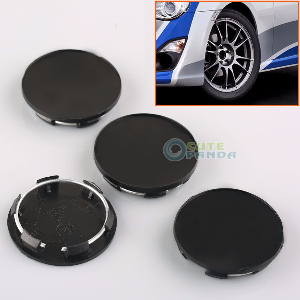 4Pcs New 50mm Black Car Wheels Center Blank Cap Hubcap Covers No Logo Universal<br><br>Aliexpress