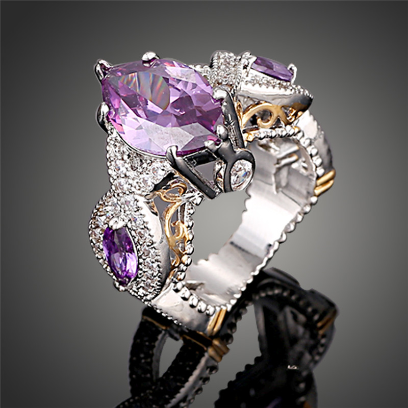 find crystal wedding rings online cheap