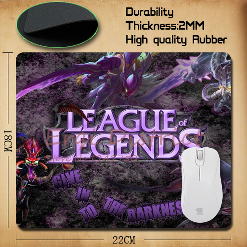 Rectangular small mouse pad Anime Game League of Legends Mouse Pad