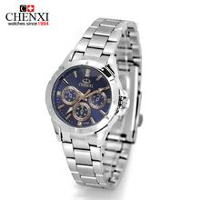 CHENXI Newest Men Women Dress Watches Luxury bracelet Unisex lovers Quartz Wrist Watches Steel Watches Relojes Mujer Hot Sale