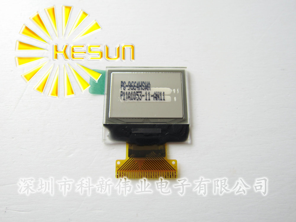 "FREE SHIPPING 5PCS/LOT 0.95"" inch 96*64 White OLED Display Module UG-9664HSWAG01(China (Mainland))"