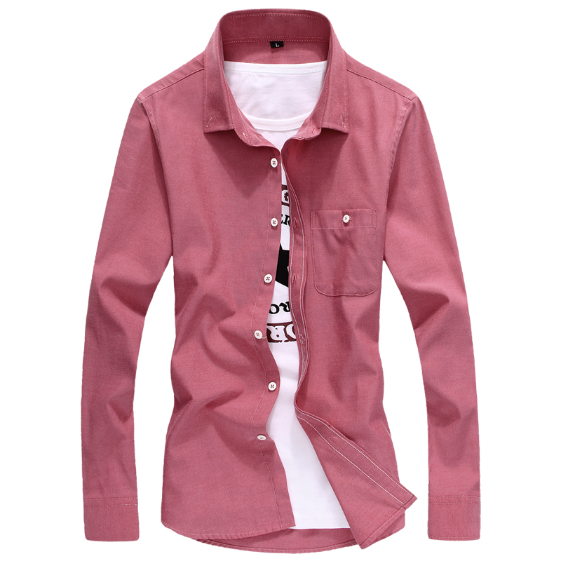 High quality man shirts 2015 new style 9 color long sleeve for New look mens shirts