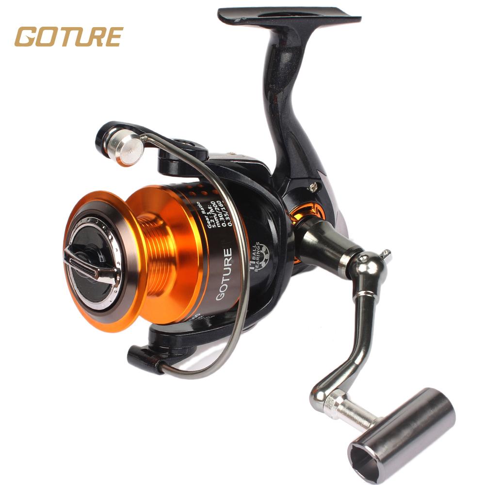 Goture GT4000 11BB Metal Spinning Fishing Reel Carp Reels Carp Fishing Wheel Spinning Reel CNN Handle(China (Mainland))