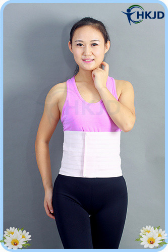 Abdominal Binder Belt For Back Pain Figure Slim Waist Brace Lumbar Brace Back Brace(China (Mainland))