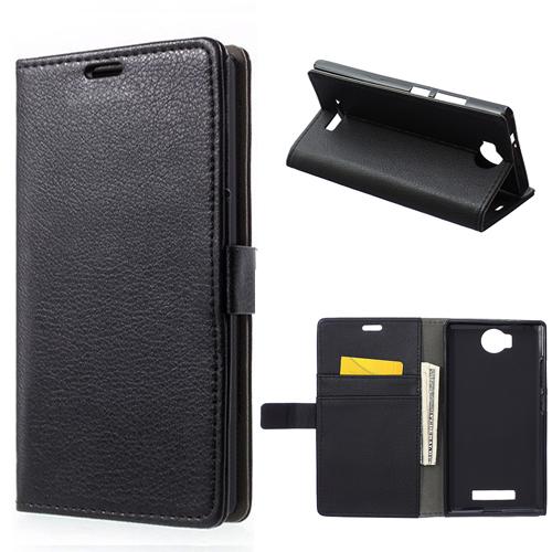 Luxury Retro Litchi Grain Wallet PU Leather Flip Card Holder Cover Case For BLU Life 8 XL L290L L290U Phone Bags Cases 1pcs(China (Mainland))