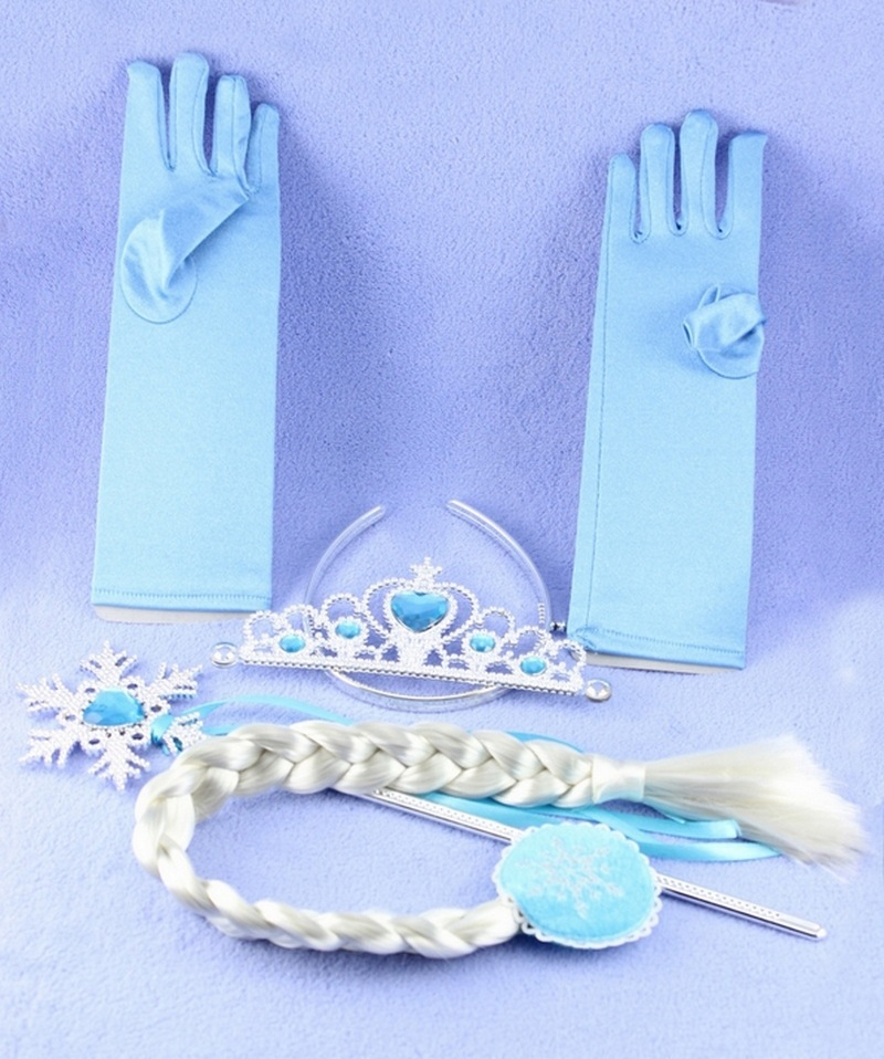 5pcs/set Hair Accessories of Princess Elsa Crown for Girls and Kids as Wedding / Birthday / Holiday / Celebration / Gifts(China (Mainland))
