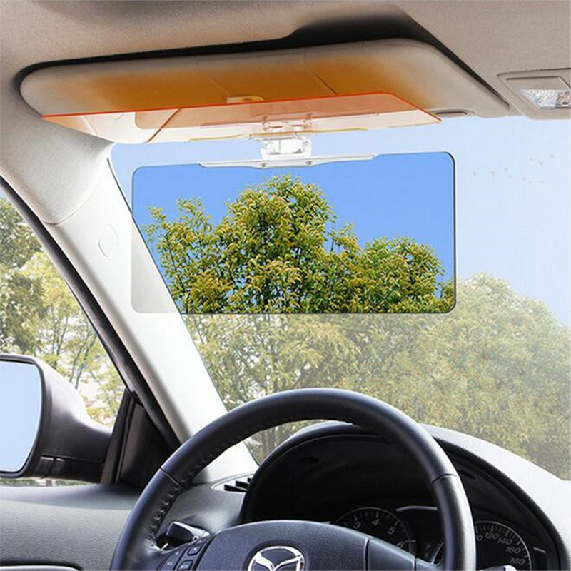 car sun visor goggles for driver day night anti dazzle mirror sun visors clear view car interior. Black Bedroom Furniture Sets. Home Design Ideas