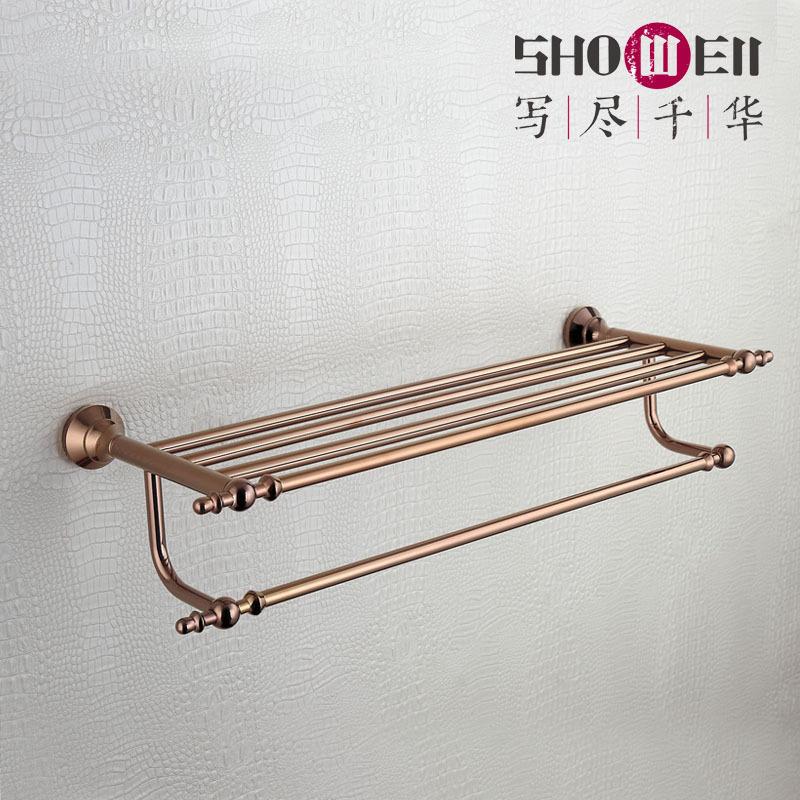 Write to make 1000, showell new classical European bathroom hardware 9516MG towel rack towel rack(China (Mainland))