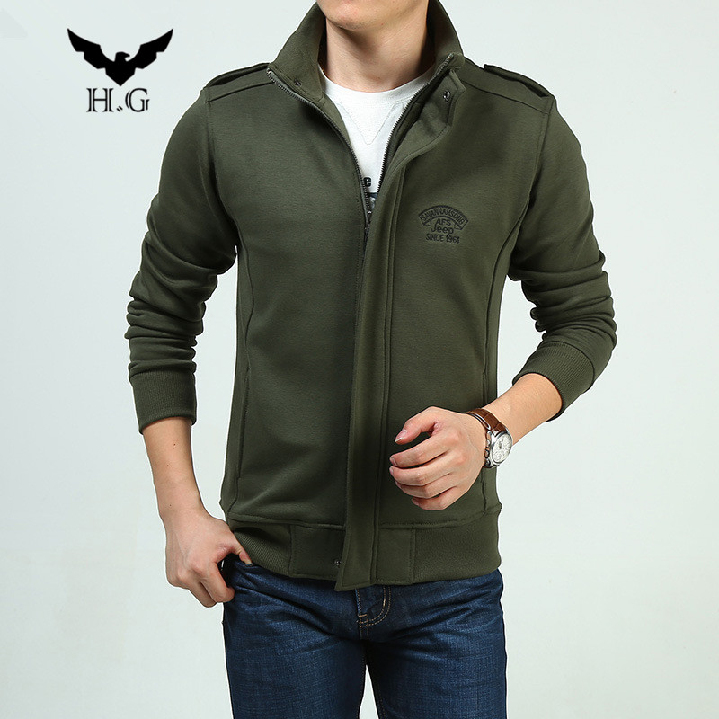 Brand new arrival Outdoor sport travel mens hoody Fleece hoodles Mens cotton Army Cardigan jacket stand Collar sweatshirtsОдежда и ак�е��уары<br><br><br>Aliexpress