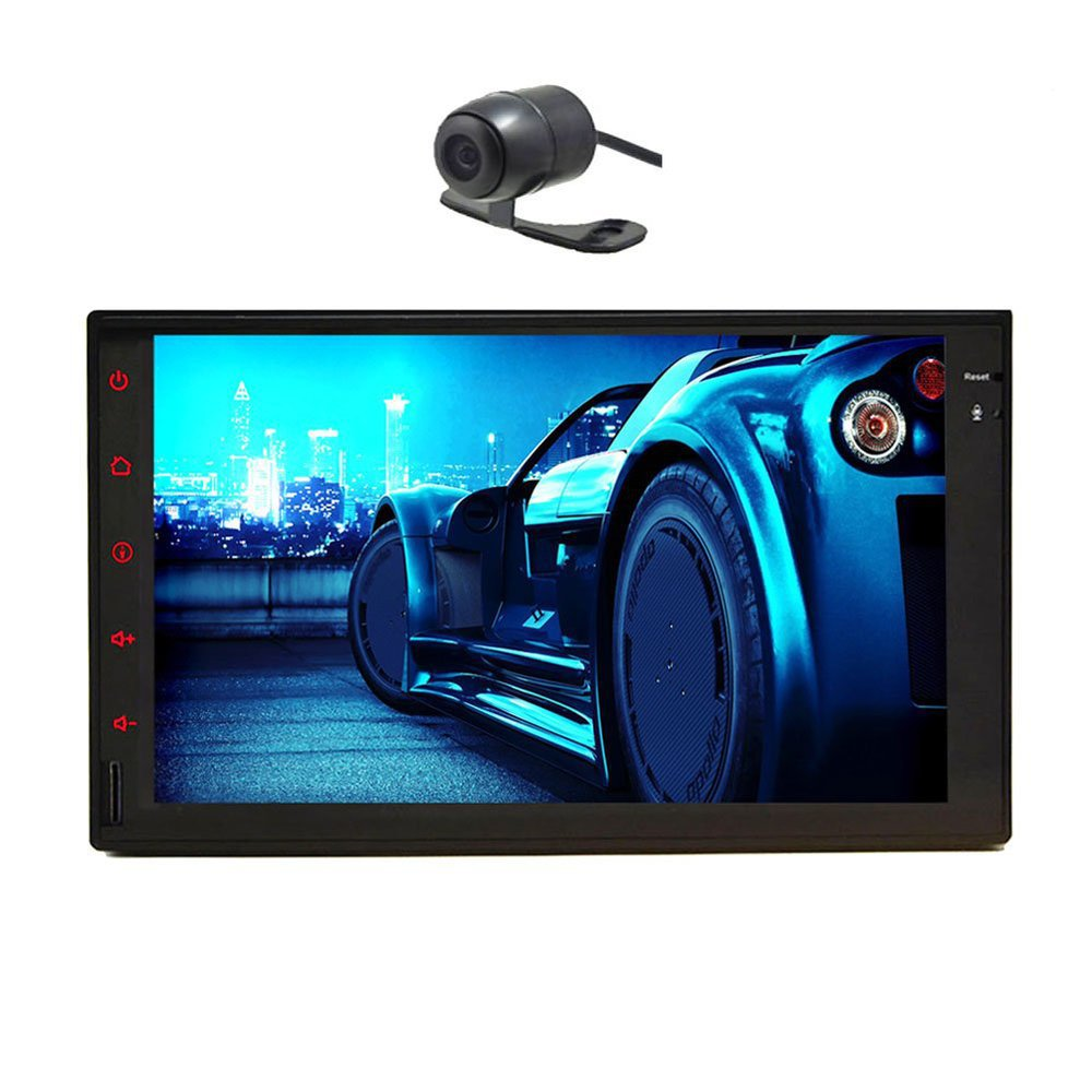 Rear Camera+Pure Android 4.2 Car PC Tablet Double 2 Din 7'' In Dash Car Stereo NO DVD Player GPS Navigation Radio+MP3+Wifi+iPod(China (Mainland))