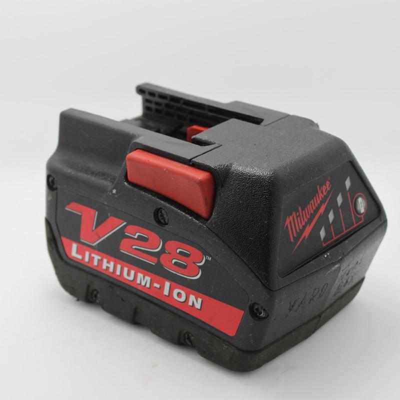 Milwaukee V28 28v 3000mAh Li-ion Power Tool Electric Rechargeable Battery Used Free Shipping(China (Mainland))