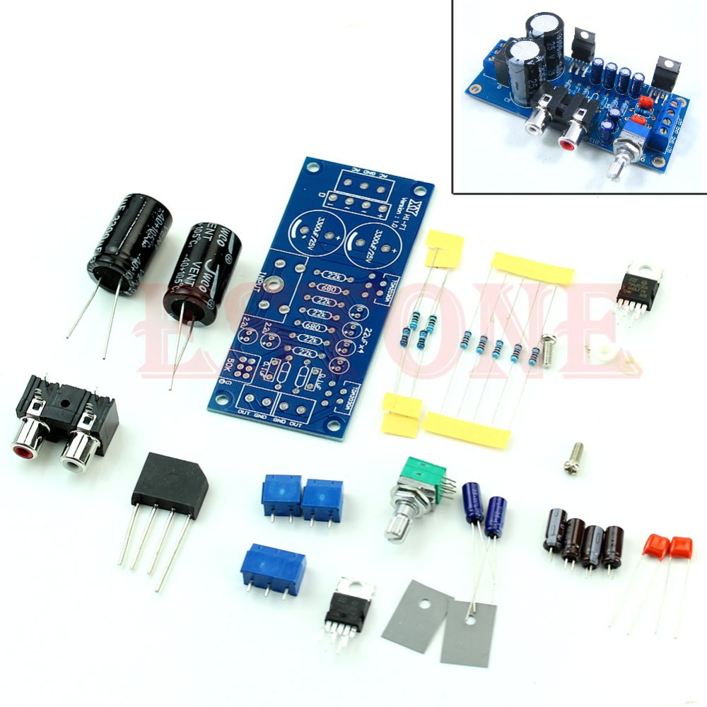 Гаджет  New Audio Power Amplifier DIY Kit Components OCL 18W x 2 BTL 36W TDA2030A None Электронные компоненты и материалы