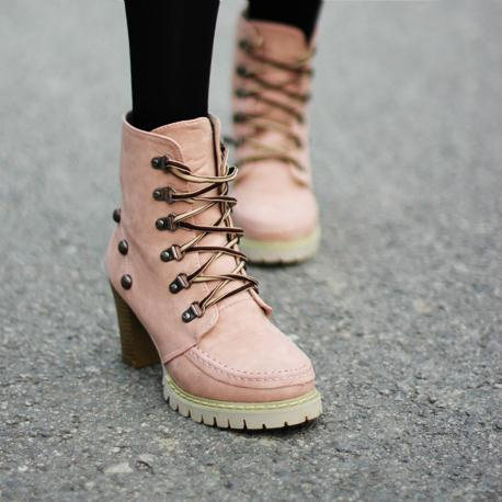 2012 spring autumn thick heel boots motorcycle martin single high-heeled women's shoes winter - Online Store 808308 store