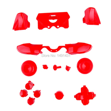 Solid Red ThumbSticks RT LT Triggers RB LB DPad ABXY Guide Buttons Mod Kit Xbox ONE 3.5mm elite Controller - Pro Gamer store