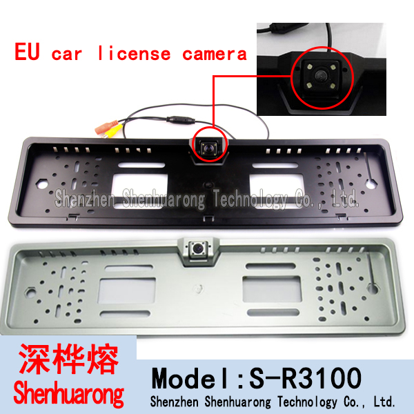 Europe License Plate Camera,EU License Plate Rear View Cam(China (Mainland))