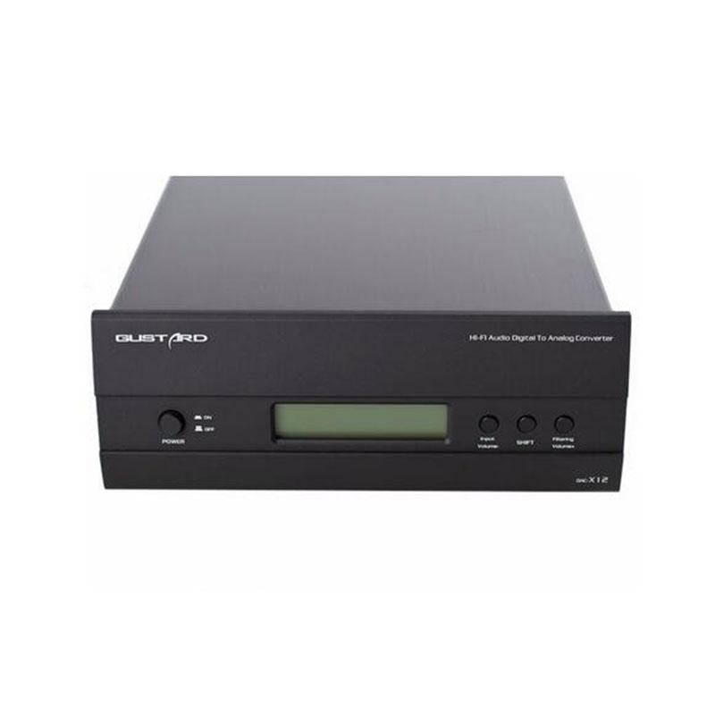 GUSTARD DAC-X12 ES9018 XMOS Balance DAC 32Bit / 384KHz DSD DOP Decoder<br><br>Aliexpress