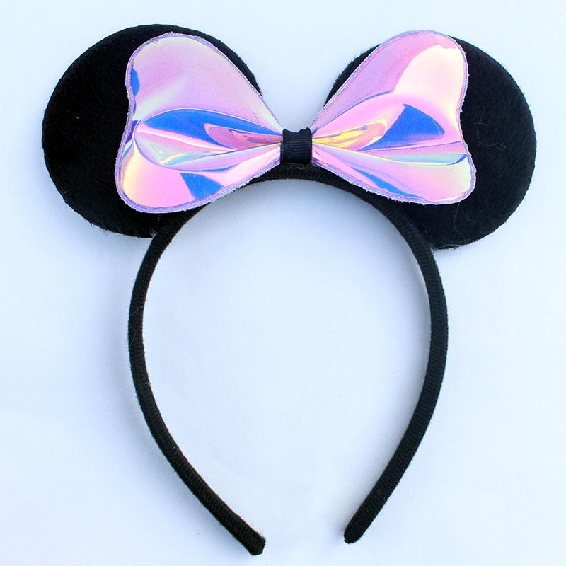 Милые уши Микки для девочек повязка на голову Минни Маус товары дня рождения LY-PH-73 (3).JPG
