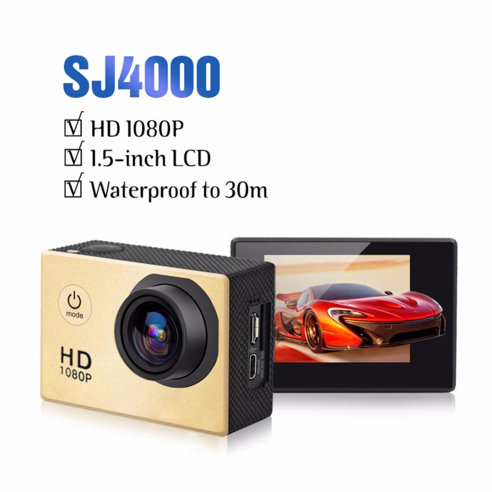 Goldfox Brand Go Waterproof Pro Hero 3 style Mini Action Camera SJ4000 Full HD 1080P 30M DV Digital underwater camera(China (Mainland))