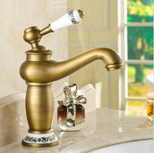 Buy Free shipping Contemporary Concise Bathroom Faucet Antique bronze finish Brass Basin Sink Faucet Single Handle water tap 5574 for $44.00 in AliExpress store