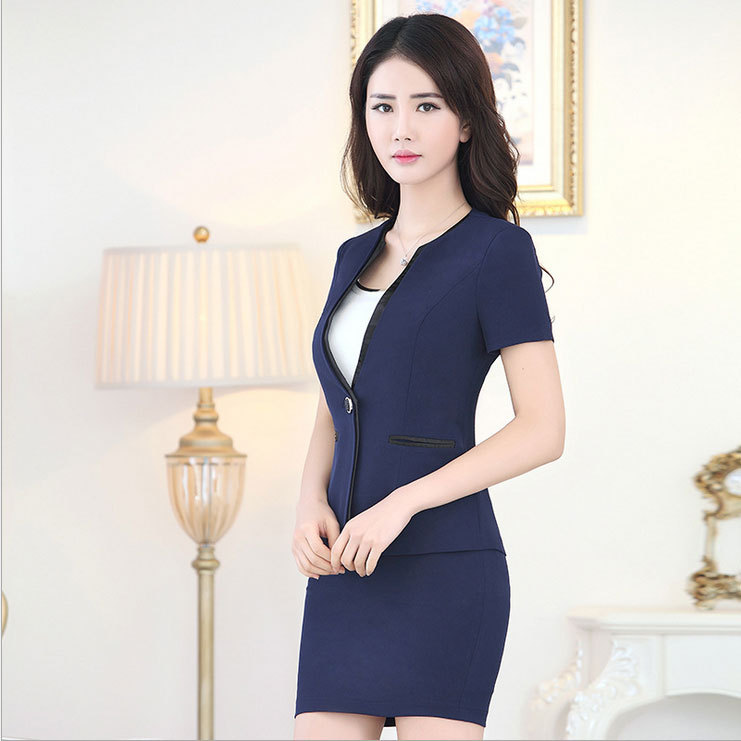 Buy office uniform designs womens suits for Office uniform design 2015