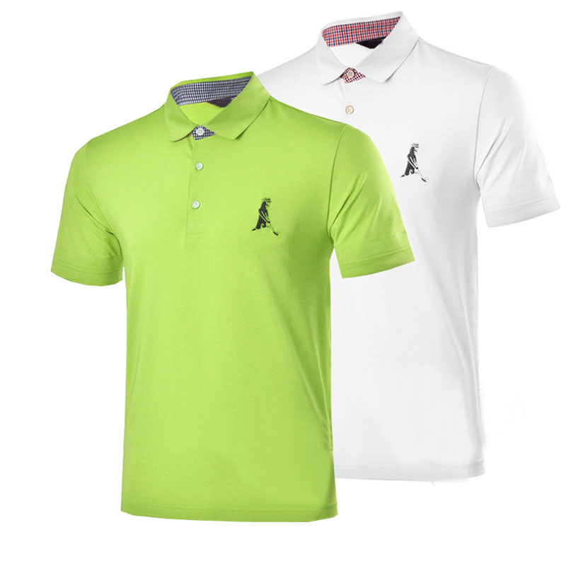 New mens Golf clothing breathable Dobby short sleeve Golf T-shirt S-XXL 5 colors in choice Sport clothes Free shipping<br><br>Aliexpress