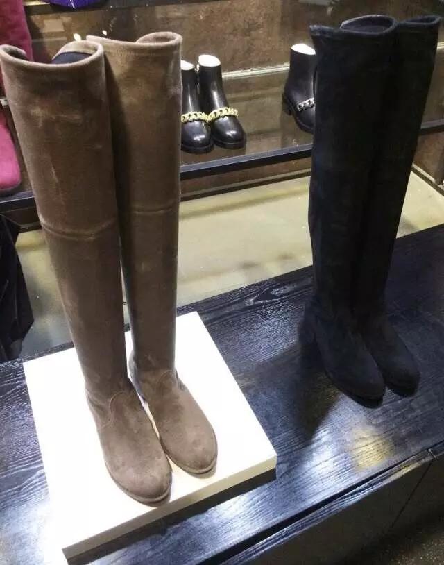 2015 new the knee thin leg stretch boots fashion