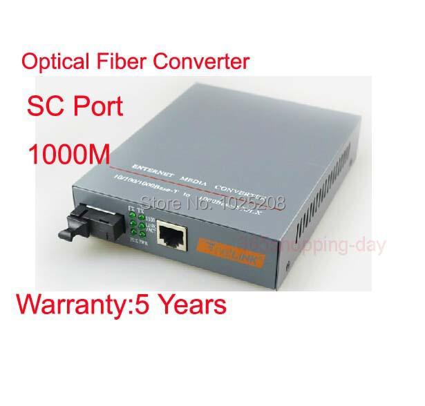 Fiber Optical Media Converter 1000Mbps SM SC port 25km HTB-GS-03 A/B 1 Pair(China (Mainland))