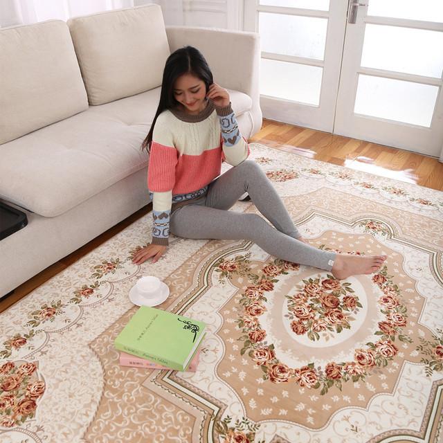 200 x 240 cm grande taille tapis de tapis et tapis tapis - Tapis salon grande taille ...