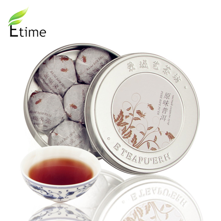 tea Yunnan Pu er tea Mini Bowl of Box pu erh tea Traditional Chinese puer ripe