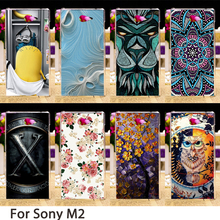 Buy Soft Phone Cases Sony Xperia M2 S50H D2303 D2305 D2306 dual D2302 4.8 inch Cases Hard Back Covers Skin Housing Sheath Bags for $1.46 in AliExpress store