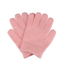 Buy 1 Pair Pink Gel Spa Gloves Soften Whiten Skin Moisturizing Treatment Hand Mask Care Gloves Repair Hand Skin Beauty Tools for $5.34 in AliExpress store