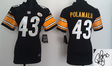 Women signature ,Pittsburgh Steelers,Ben Roethlisberger,artie burns,Troy Polamalu,leveon bell, Antonio Brown,Bryant,customizable(China (Mainland))