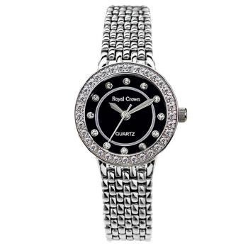 Royal Crown watch Italy Quartz watch women luxury brand sport dress business Fashion & Casual watch Diamond 3650 C(China (Mainland))