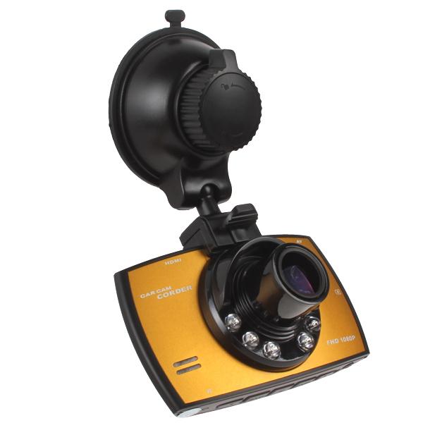"Multifunctional HD 1920x1080 Car DVR Car Camera DVR Recorder LCD Screen View Angle Motion Detection HDML 2.7""TFT(China (Mainland))"