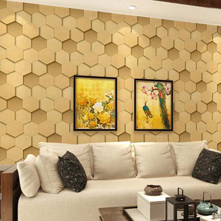 3d wallpaper roll PVC Embossed wallcovering luxury modern vinyl grey beige papel de parede sofa tv background wall wallpaper(China (Mainland))