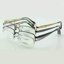 Titanium glasses light frame prescription eyeglasses male optical  eyewear  big face  air nose pads