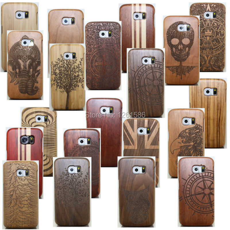 2015 hot healty solid real wood bamboo wooden multi for Case en bois