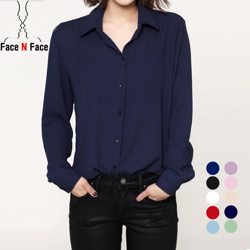 Women Long Sleeve Chiffon Blouse Shirt New 2015 Autumn Woman Fashion Clothes Casual Blouses Ladies Top Blusas Camisas Femininas(China (Mainland))